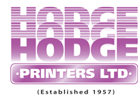 Hodge printers Ltd - Commercial Printers and Stationers
